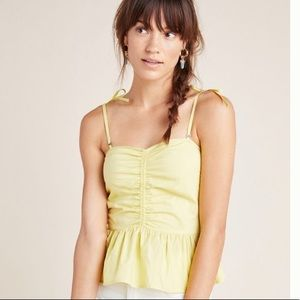NWT Anthropologie Tank with removable straps